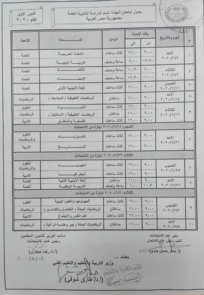 حقيقة إلغاء امتحانات الثانوية العامة واستبدالها باختبارات قدرات مصر العربية