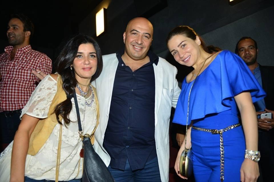 بالصور العرض الخاص لفيلم أهواك لتامر حسني وغادة عادل مصر العربية