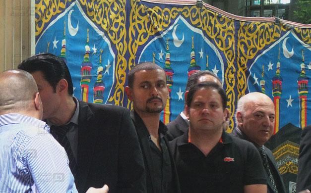 صور عزاء والد رامز جلال 1 18/8/2014 - 11:51 ص
