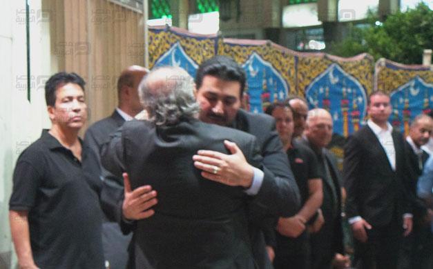 صور عزاء والد رامز جلال 3 18/8/2014 - 11:51 ص