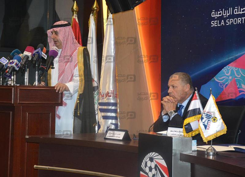 توقيع اتفاقية البطولة العربية لكرة القدم