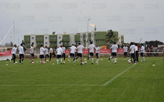 استعدادات المنتخب  لمباراة مالي غدا
