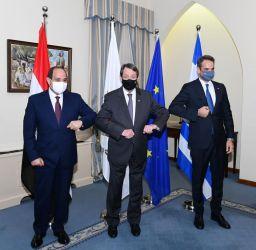 السيسي:  تضافر جهود جميع دول شرق المتوسط لمواجهة التحديات