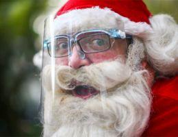 في أعياد الميلاد.. سانتا كلوز يحث على التباعد
