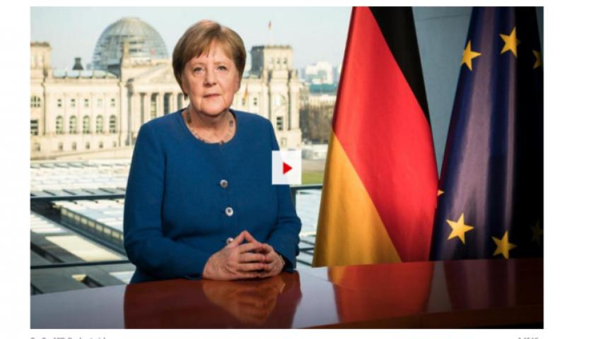 بيلد: ميركل تحذر الألمان من «حمى الشراء » في زمن كورونا