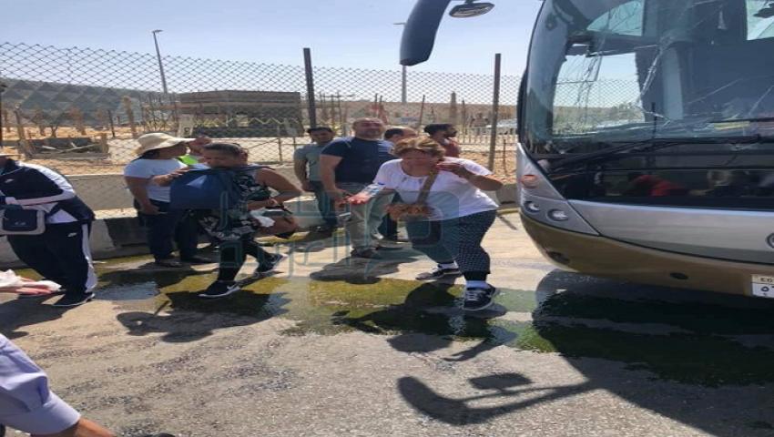 صور| ارتفاع عدد مصابي حادث انفجار الهرم إلى 17 سائحًا