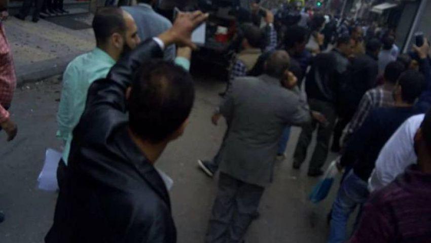 انفجار بكنيسة مارمرقس بمنطقة العطارين بالإسكندرية