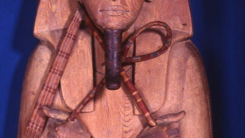 صور| عرض تابوت للملك رمسيس الثاني بالمتحف المصري