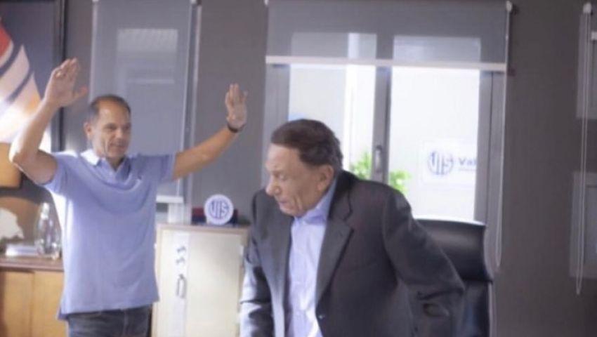 فيديو| بعد انتشار أخبار تدهور صحته.. شاهد الزعيم في كواليس «فلانتينو»