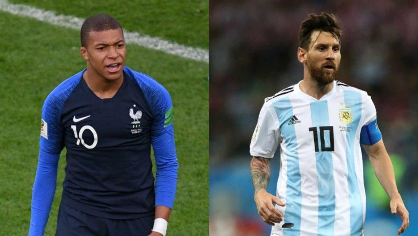 مونديال روسيا.. التشكيل الرسمي لمواجهة  فرنسا والأرجنتين