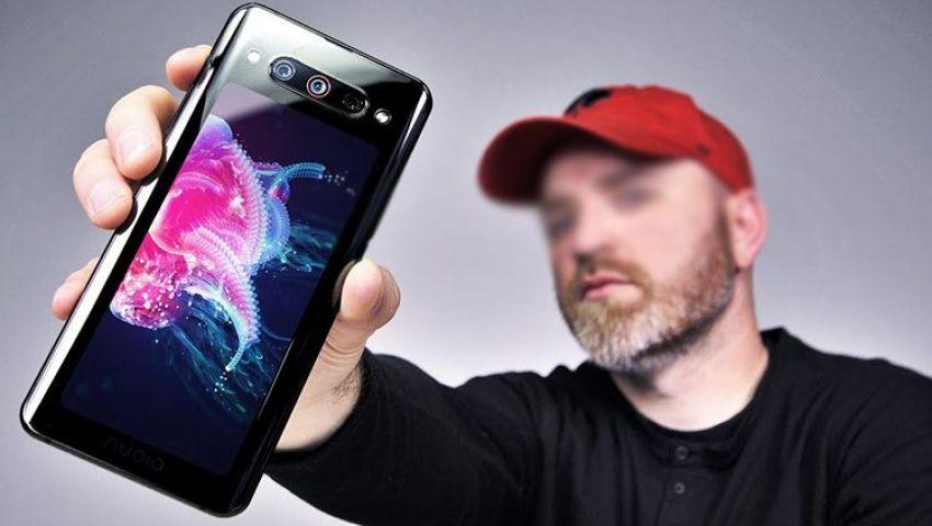 فيديو| بـ 8900 جنيه.. كل ما تريد معرفته عن هاتف نوبا Z20 المزود بشاشتين