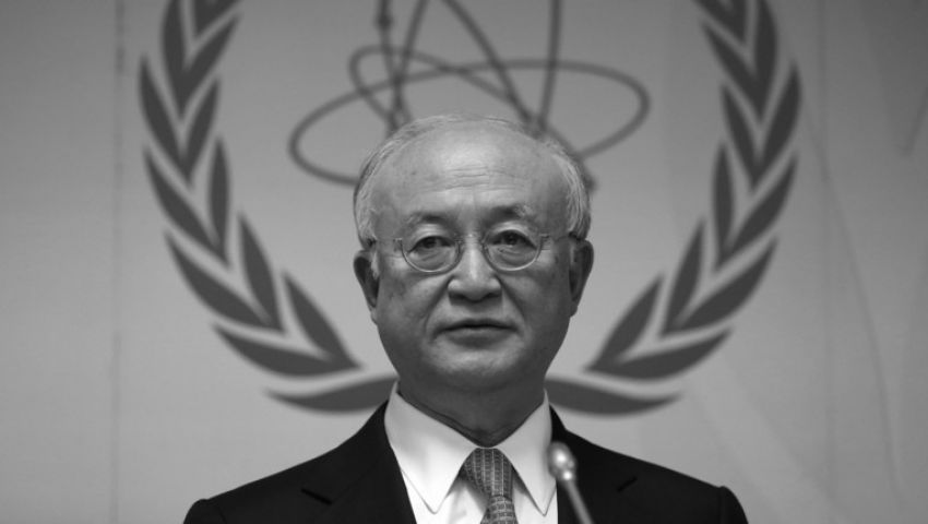 وفاة مدير وكالة الطاقة الذرية يوكيا أمانو