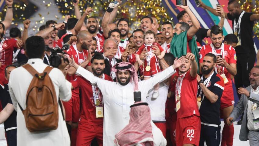 فيديو وصور| النجم الساحلى يفور بالبطولة العربية ويحصل على 6 ملايين دولار