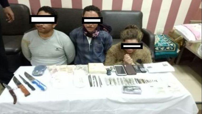 بينهم ممرضة.. ضبط 3 أشخاص متلبسين بالاتجار في المخدرات بأسيوط