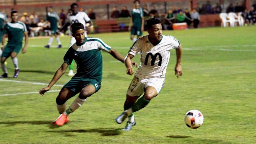 المصري يفوز على فريق «19 عاما» بخماسية استعدادًا لإنبي