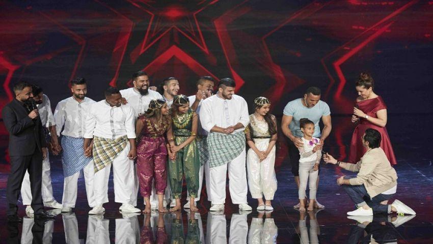 صور  فريقHuman'sإلى النهائيات بتصويت الجمهور.. فيArabs Got Talent
