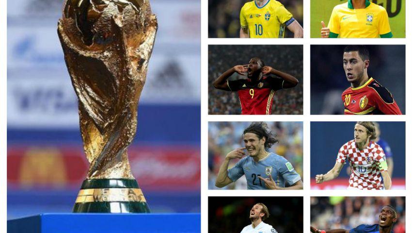 إنفوجراف| مباريات دور الـ 8 في مونديال روسيا