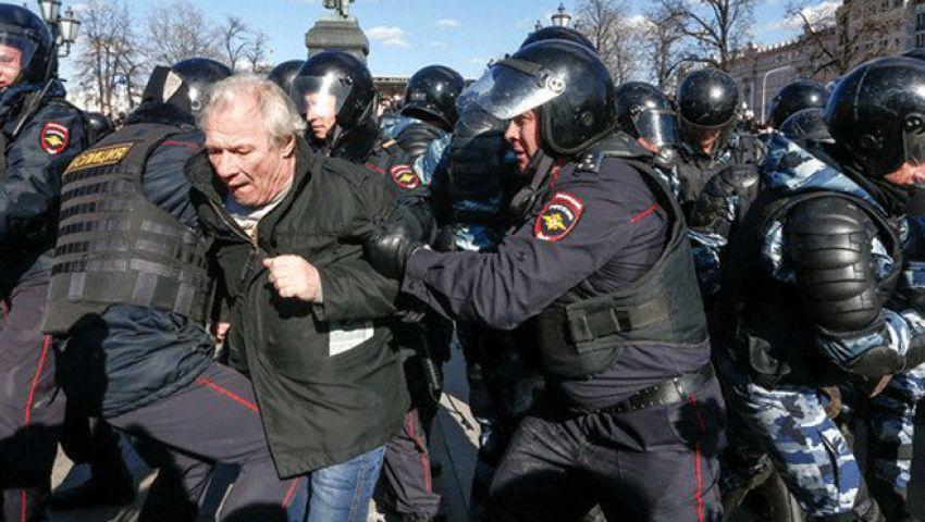 الأمم المتحدة تدعو موسكو لاحترام حق التظاهر السلمي