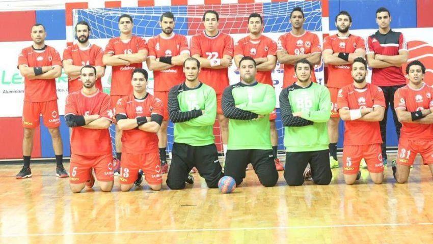 الأهلي يصعد لنصف نهائي كأس مصر لرجال اليد
