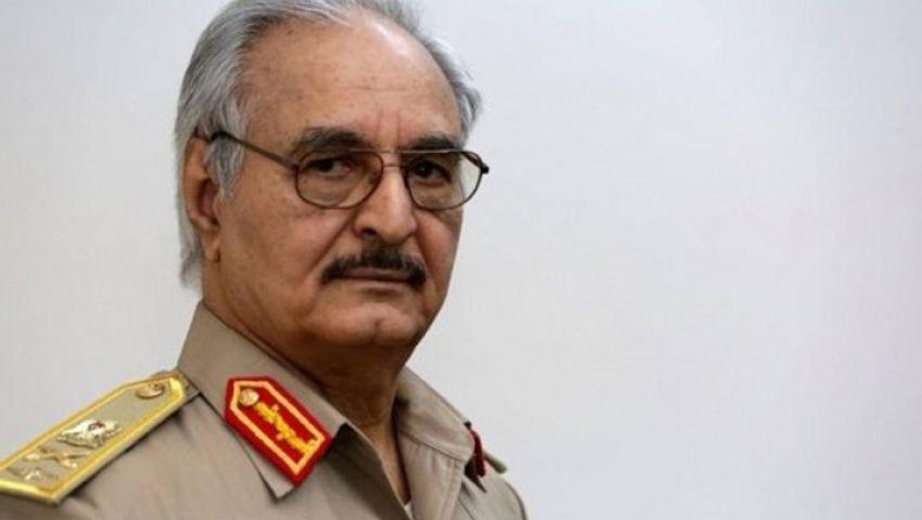 حفتر يطلق عملية عسكرية للسيطرة على طرابلس.. و«هذا» موقف السراج