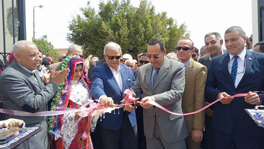 تخدم 3500 نسمة.. محافظ شمال سيناء يفتتح محطة مياه أبو الجلود