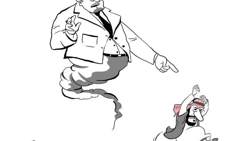 كاريكاتير| شبح «خاشقجي»