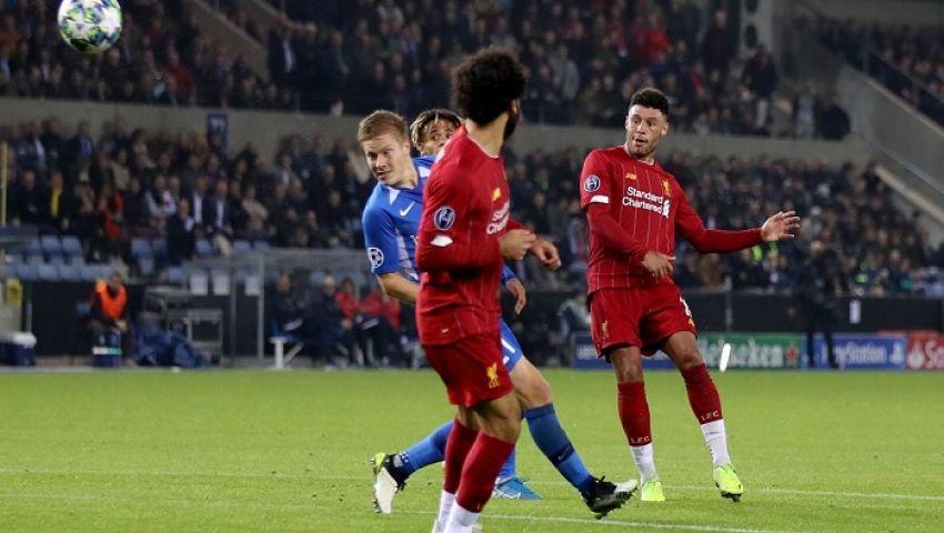 فيديو  صلاح يسجل.. ليفربول يكتسح جينك برباعية في دوري الأبطال