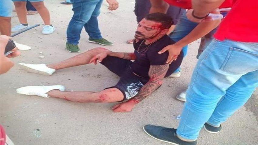 فيديو.. عمرو زكي يتعرض لحادث سير مروع