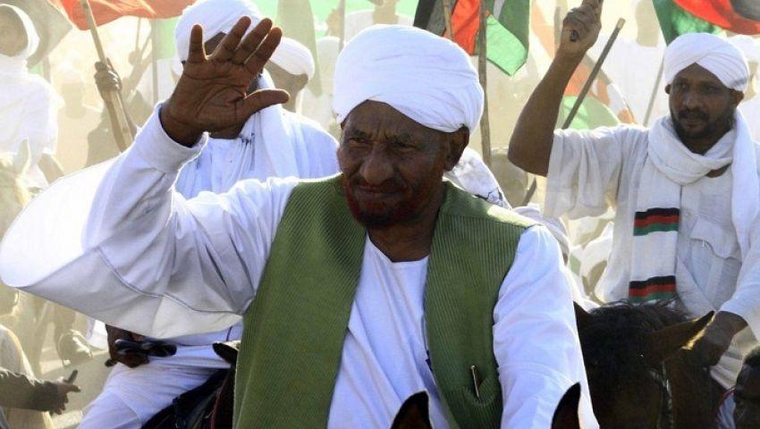 السودان.. المهدي يدعو إلى تشكيل البرلمان وتعيين الولاة المدنيين
