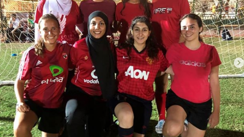 فيفا كأس العالم للسيدات تسلط الضوء على  لاعبات بكرة القدم النسائية في مصر
