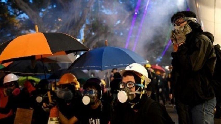 تراجع قاسٍ لاقتصاد هونغ كونغ بسبب المظاهرات