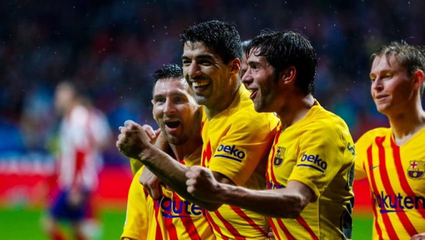 فيديو| ميسي يعيد برشلونة للصدارة بانتصار في معقل أتليتيكو