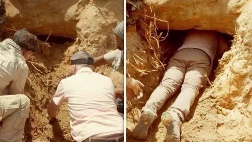 صحيفة بريطانية: حفرة بشاطئ النيل تقود لاكتشاف أثري مذهل