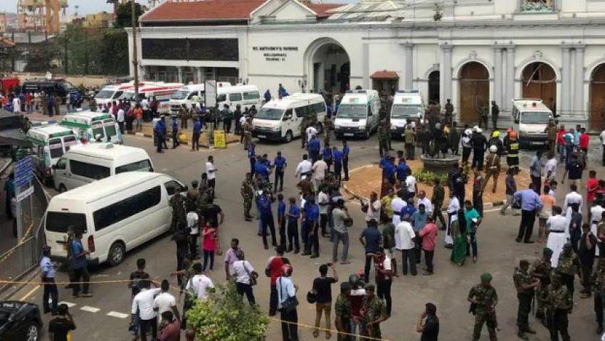 انفجار كنائس سريلانكا يهز «تويتر».. ومغردون: «اللعنة على من يشعل الفتنة»