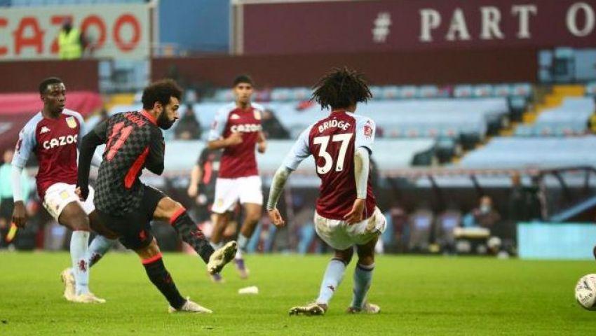 ليفربول يفوز على أستون فيلا في كأس الاتحاد الإنجليزي برباعية