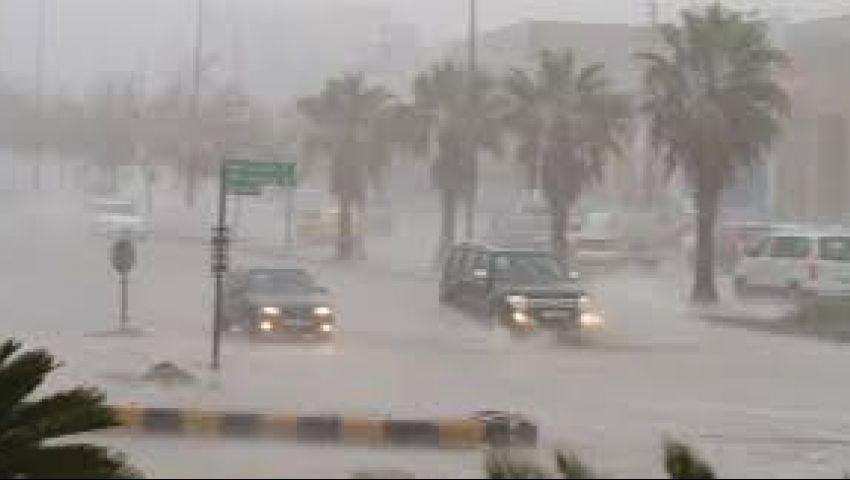فيديو| تعرف على أماكن سقوط الأمطار غدًا الأربعاء