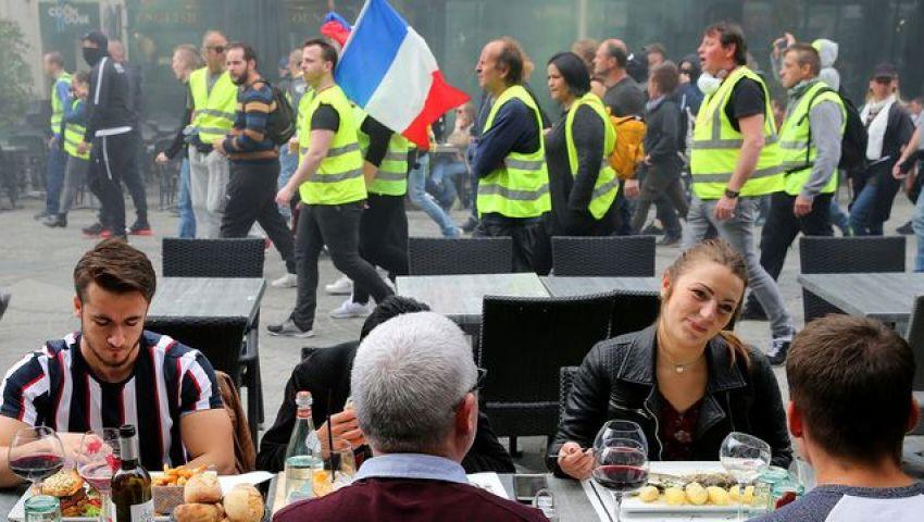 الاحتجاجات تفقد زخمها في السبت الـ27.. هل تختفي«السترات الصفراء»؟