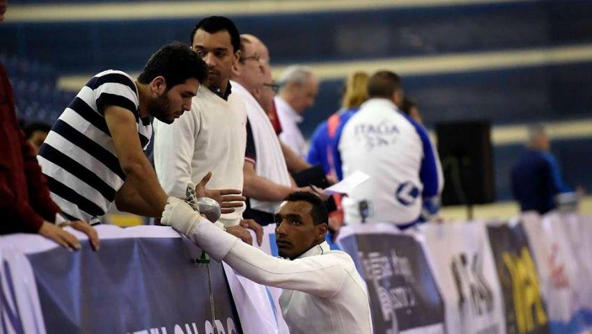 ياسر حفني ينسحب من كأس العالم للخماسي الحديث