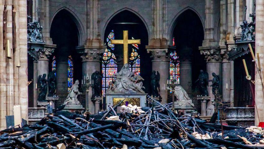 بمسابقة معمار دولية وقانون ضريبي.. فرنسا تسعىلأعمار «نوتردام»