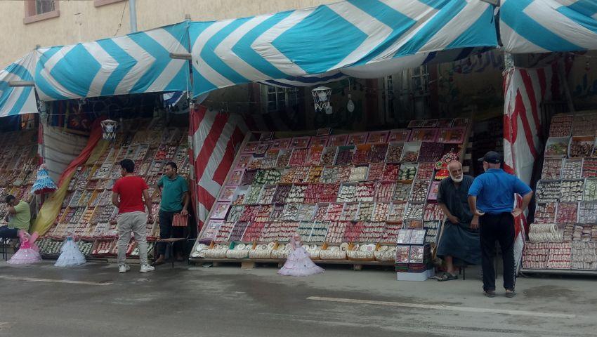 صور  حلوى المولد النبوي .. بقيت المناسبة وركدت الأسواق بشمال سيناء
