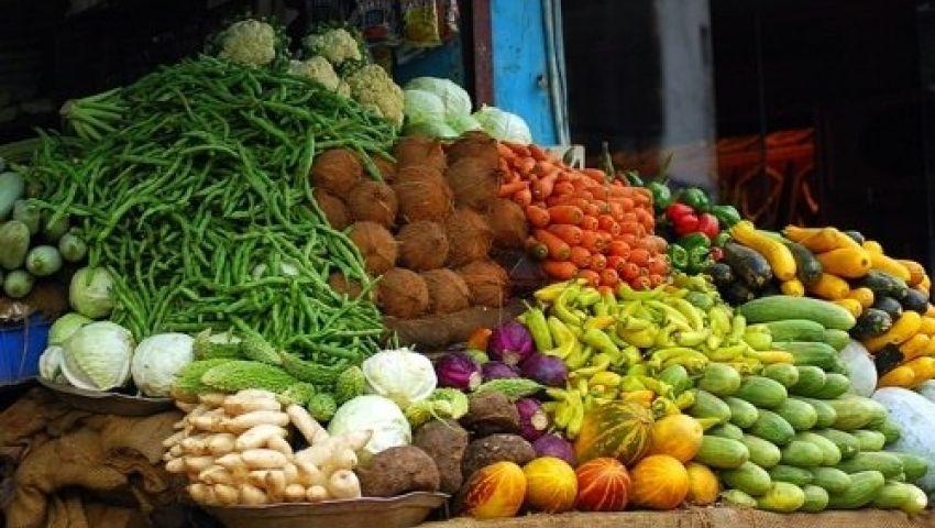 أسعار الخضار والفاكهة في سوق العبور اليوم الإثنين 27-3-2017
