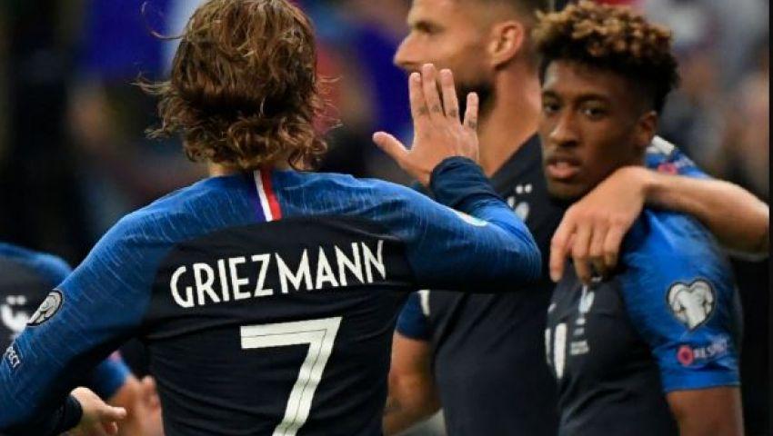 فيديو| تصفيات يورو 2020.. فرنسا تكتسح ألبانيا برباعية