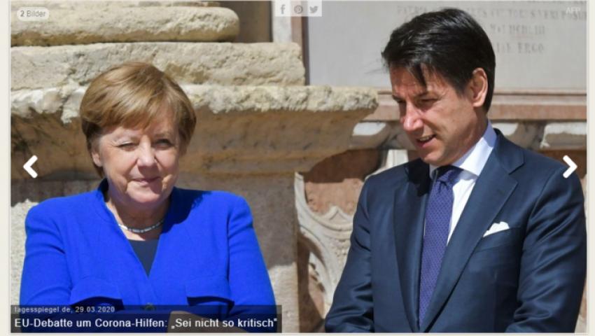 صحيفة ألمانية: بعد اشتباك ميركل وكونتي.. كورونا فرصة للم شمل الأوروبيين