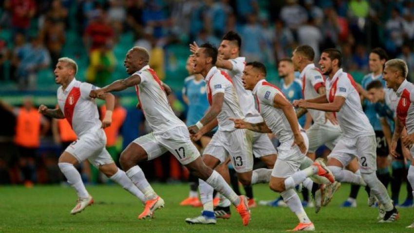 فيديو| كوبا أمريكا.. بيرو تصعق أوروجواي وتتأهل لنصف النهائي
