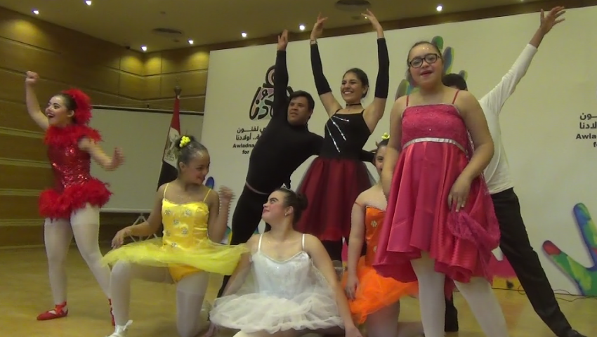فيديو| رقص وغناء ورسم.. مواهب ذوي الإعاقة تبهر جمهور «ملتقى أولادنا»