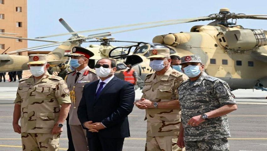 السيسي: سنقوم بتدريب القبائل الليبية وتسليحها
