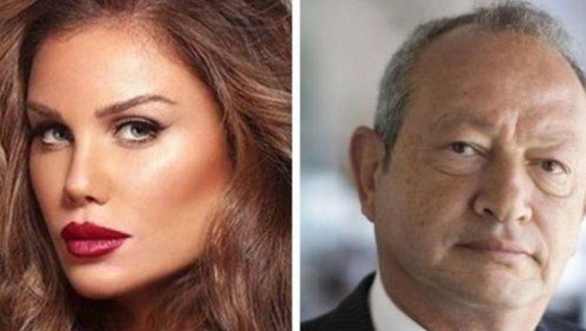 مشادة كلامية بين ساويرس ونيكول سابا بسبب «نكتة» حول تظاهرات لبنان