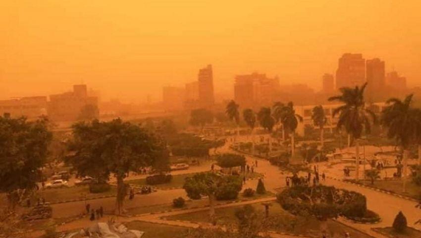 عوامل جوية تؤثر على جودة الهواء غدًا.. و«البيئة» تحذر