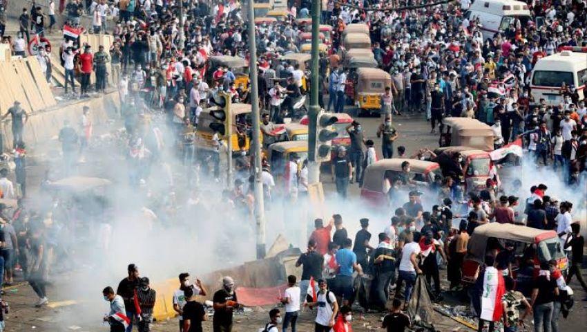 فيديو| العراقيون في الشوارع مجددا.. حصيلة ضحايا تظاهرات بغداد