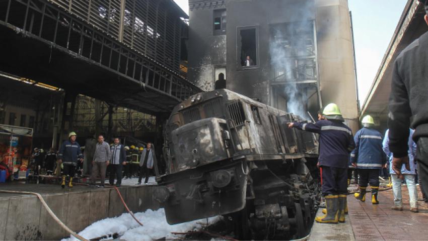 فيديو  من محطة مصر لـ مطروح.. دماء «الأربعاء الأسود» تغطي قضبان السكة الحديد